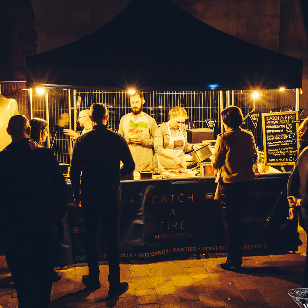 Food at The Rock and Rum Festival